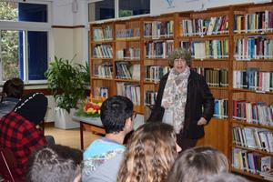 Encontro com a escritora Irene Lucília 4