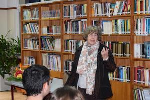 Encontro com a escritora Irene Lucília 7